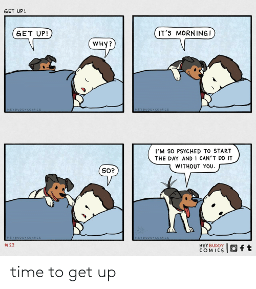 Time: time to get up