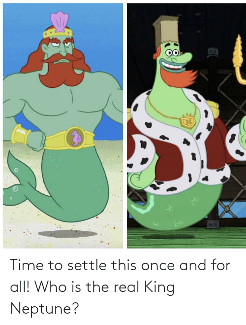 The Real: Time to settle this once and for all! Who is the real King Neptune?