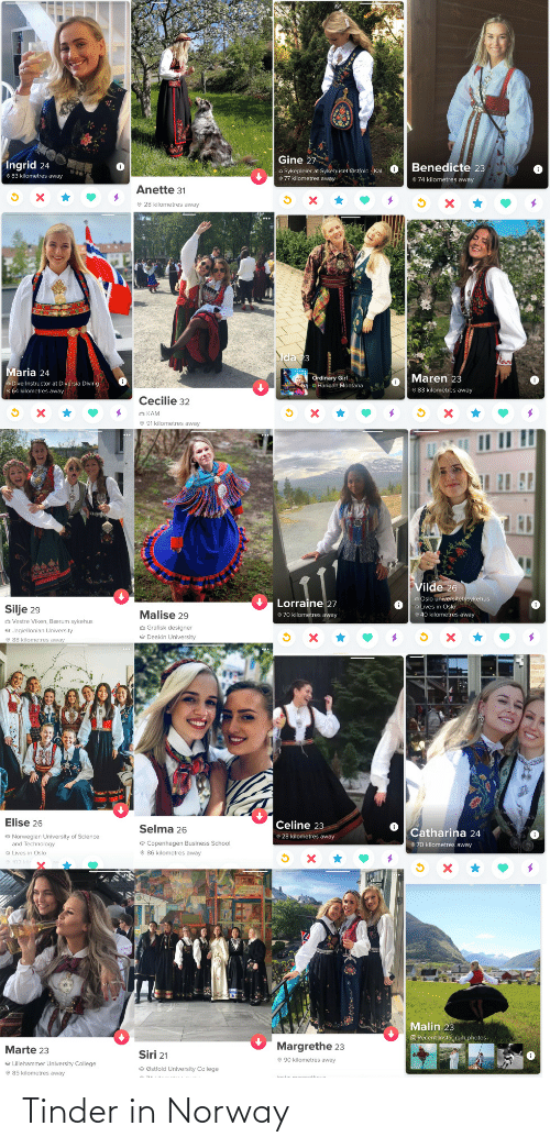 tinder: Tinder in Norway