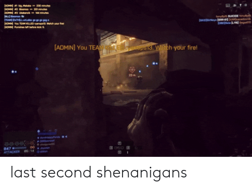 SHENANIGANS BUT OK Every Session | Shenanigans Meme on