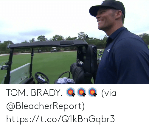 tom: TOM. BRADY. 🎯🎯🎯  (via @BleacherReport)  https://t.co/Q1kBnGqbr3