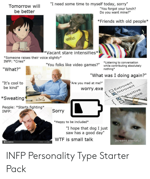 🐣 25+ Best Memes About Infp Personality | Infp Personality