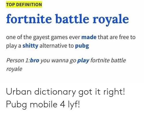 urban dictionary definition and dictionary top definition fortnite battle rovale one of the - what is a bot in fortnite urban dictionary