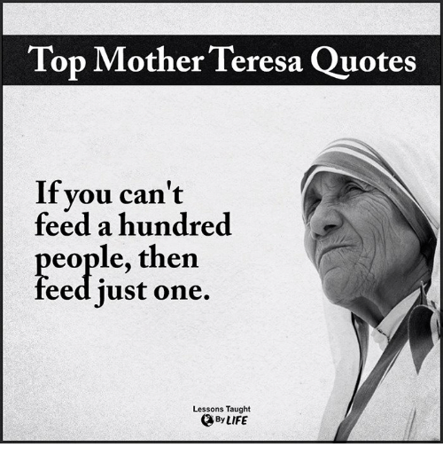 25 Best Memes About Mother Teresa Quotes Mother Teresa Quotes