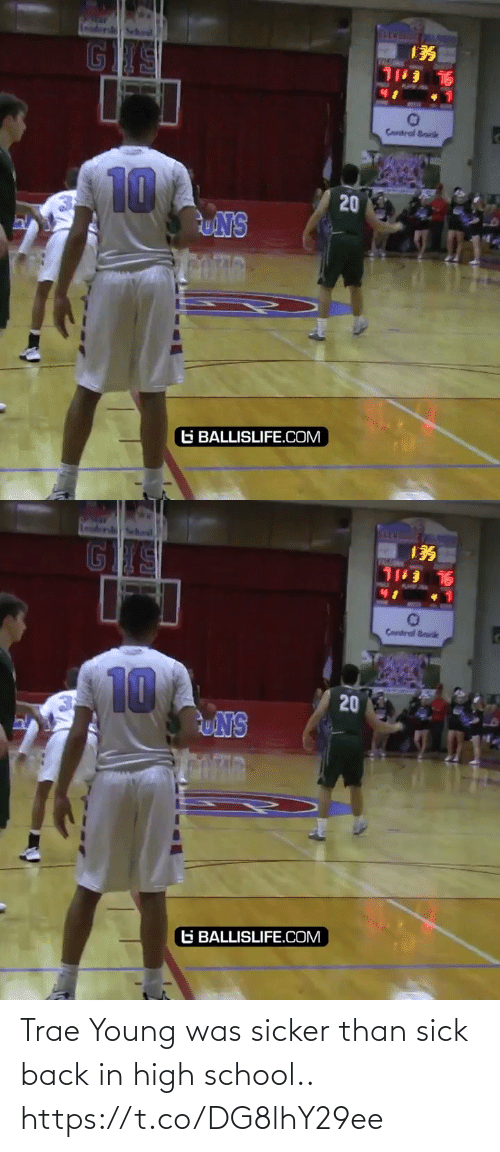 Sick: Trae Young was sicker than sick back in high school.. https://t.co/DG8lhY29ee