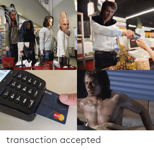 Transaction: transaction accepted