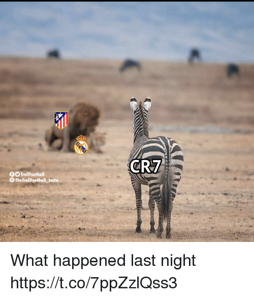 Memes, 🤖, and Last Night: TrollFootball  TheTrollFootball Insta What happened last night https://t.co/7ppZzlQss3