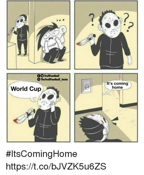 Memes, World Cup, and Home: TrollFootball  TheTrollFootball_Insto  It's coming  home  World Cup #ItsComingHome https://t.co/bJVZK5u6ZS