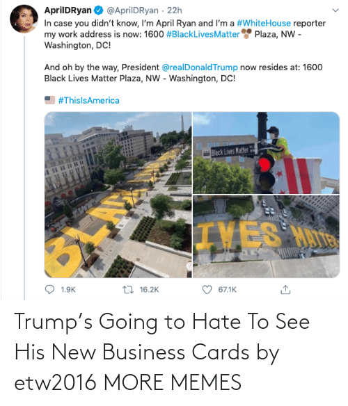Trump: Trump's Going to Hate To See His New Business Cards by etw2016 MORE MEMES