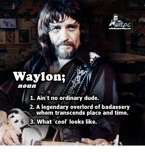 Transcendance: try Dom  Waylon,  noun  1. Ain't no ordinary dude.  2. A legendary overlord of badassery  whom transcends place and time.  3. What 'cool' looks like.