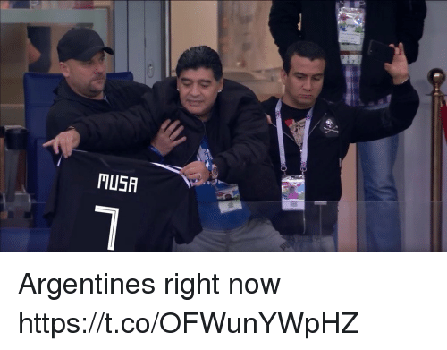 Memes, 🤖, and Now: TUSA Argentines right now https://t.co/OFWunYWpHZ