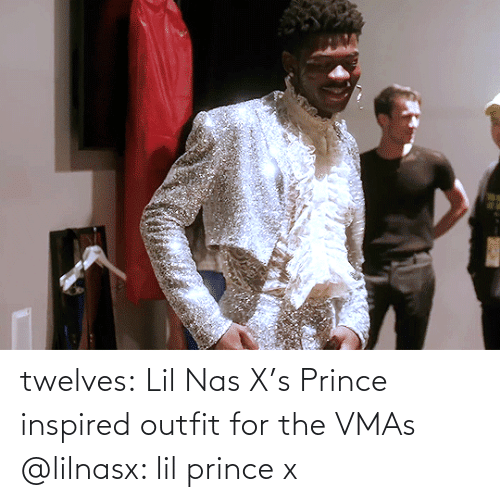 Outfit: twelves: Lil Nas X's Prince inspired outfit for the VMAs @lilnasx: lil prince x