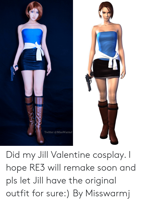 Twitter Did My Jill Valentine Cosplay I Hope Re3 Will Remake