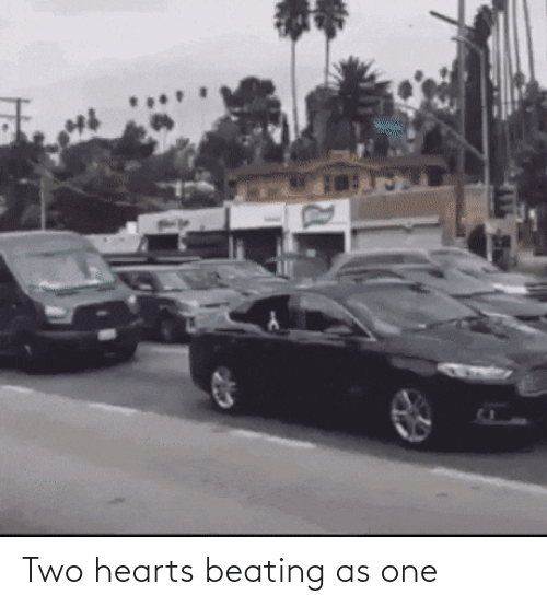 Hearts: Two hearts beating as one