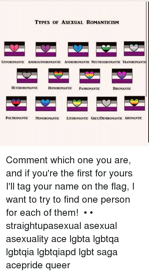 Heteroromantic asexual definition colors