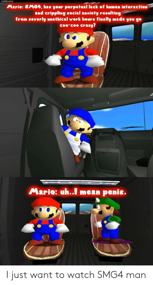 25 Best Memes About Mario Smg4 Mario Smg4 Memes