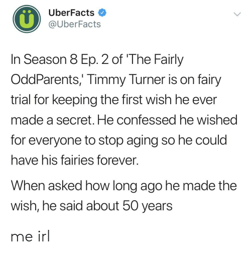 Uberfacts In Season 8 Ep 2 Of The Fairly Oddparents Timmy Turner