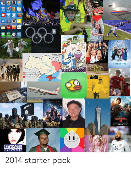 Clock, cnn.com, and eBay: uesaay  30  73  Calendar  Photos  Camera  Weather  A  280  ATHA  3ay  App Store  Settings  Contacts  Maps  +  X  Calculator  YouTube  Twitter  Mail  f  Snapchat  Facebook  Alien Blue  Instagram  CAN ud ebay  ఆరా  MULTISOM  Notes  CNN  UrbanDict  eBay  11 12 1  7  Clock  Messages  Phone  Safari  Russian troops  massing  AP  FROZEN  Tog MANY  Cooks  REGULAR SHOW  Government buildings seized  by pro-Russia protesters  HAPPY  STCOFFEKS  Annexed by Russia  LIVE  malaysia  CY DF FLINE  RESIDENTS  ONLY!  BAUTISTA  DIESEL  PRATT SALDANA  COOPER  HOW TO TRAIN YOUR  DRAGON  MARVEL  GUARDIANS  THEGALAXY  AMWORKS ANMATION TYUA I  OE SRIA CENEL SSAN AR EAD  PG JUNE 13 IN 3D  OF  PROM THE STUDIO THAT BRDUSHT YOU THE AVENDERS  USP  DARK HORSE  KAT Y PERRY  24 2014 starter pack