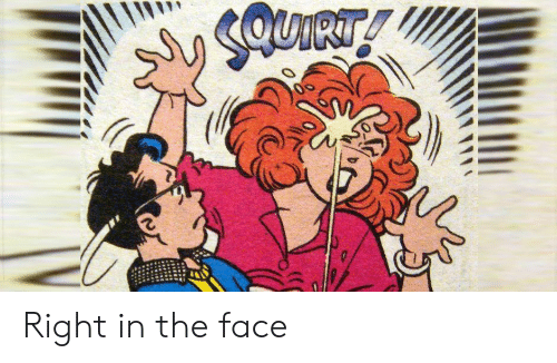 Face, The Face, and Right: UIRT! Right in the face