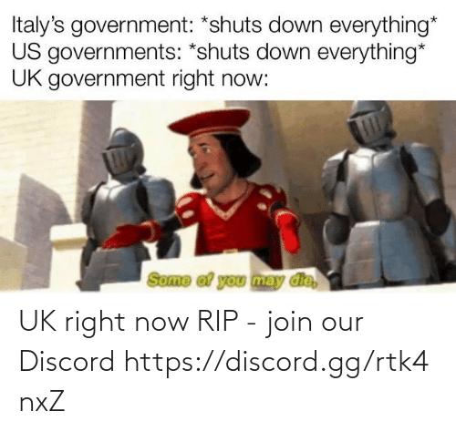Our: UK right now RIP - join our Discord https://discord.gg/rtk4nxZ