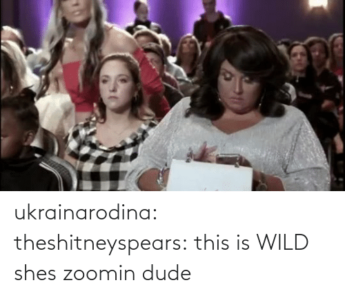 com: ukrainarodina:  theshitneyspears: this is WILD shes zoomin dude