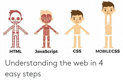 easy: Understanding the web in 4 easy steps