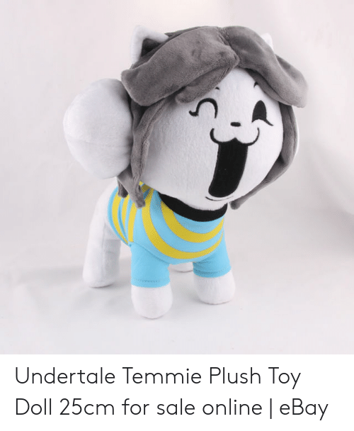 Undertale Temmie Plush Toy Doll 25cm for Sale Online | eBay | EBay