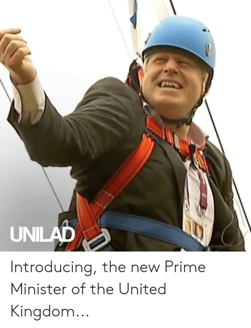 Dank, United, and United Kingdom: UNILAD Introducing, the new Prime Minister of the United Kingdom...