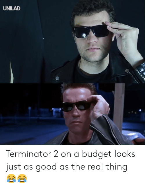 Terminator: UNILAD Terminator 2 on a budget looks just as good as the real thing 😂😂