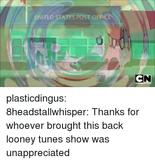 Looney Tunes, Tumblr, and Blog: UNITED STATES POST OFF plasticdingus:  8headstallwhisper: Thanks for whoever brought this back looney tunes show was unappreciated