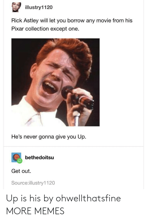 His: Up is his by ohwellthatsfine MORE MEMES