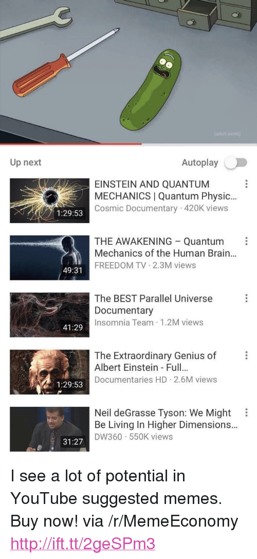 """Albert Einstein, Memes, and Neil deGrasse Tyson: Up next  Autoplay  EINSTEIN AND QUANTUM  MECHANICS 