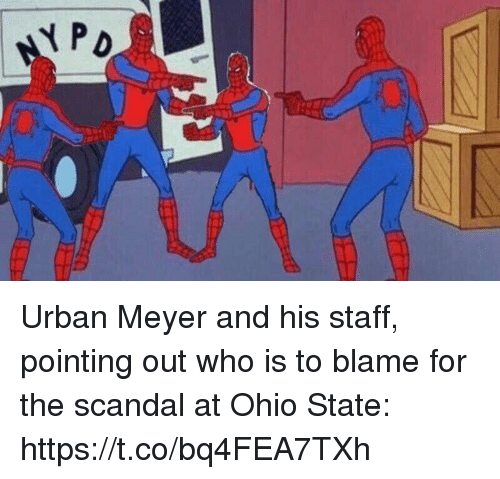 meyer: Urban Meyer and his staff, pointing out who is to blame for the scandal at Ohio State: https://t.co/bq4FEA7TXh