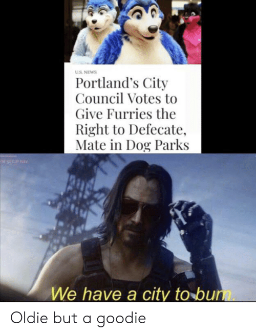 uS NEWS Portland's City Council Votes to Give Furries the Right to