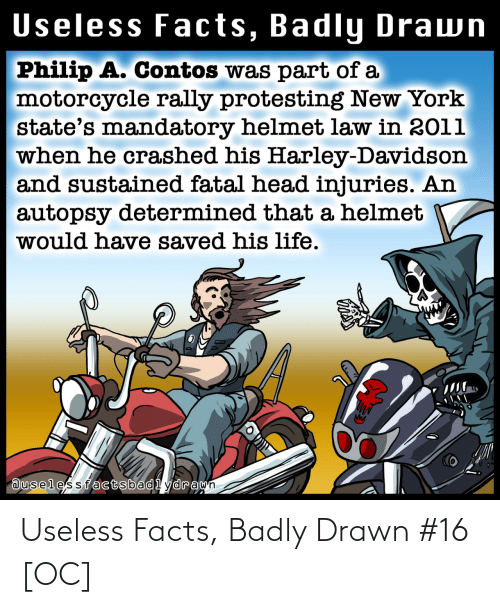 Facts: Useless Facts, Badly Drawn #16 [OC]