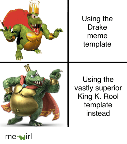 drake meme and superior using the drake meme template using the vastly superior