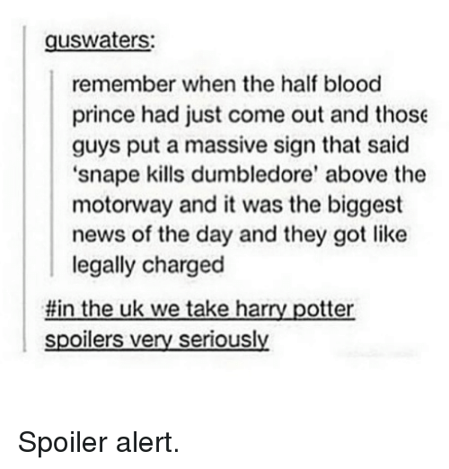 Snape Kills Dumbledor