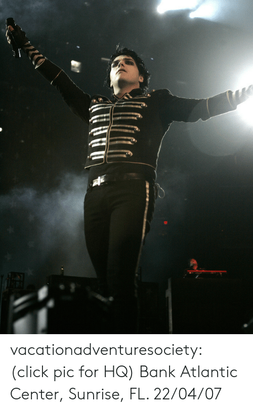 Click, Tumblr, and Bank: vacationadventuresociety:  (click pic for HQ) Bank Atlantic Center, Sunrise, FL. 22/04/07