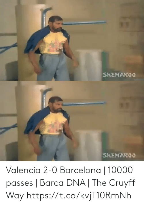 dna: Valencia 2-0 Barcelona | 10000 passes | Barca DNA | The Cruyff Way  https://t.co/kvjT10RmNh