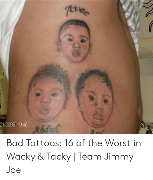 000ca059bd49 Vec 012009 1946 R6die Bad Tattoos 16 of the Worst in Wacky & Tacky ...