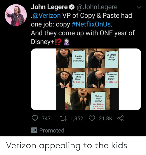 Verizon: Verizon appealing to the kids