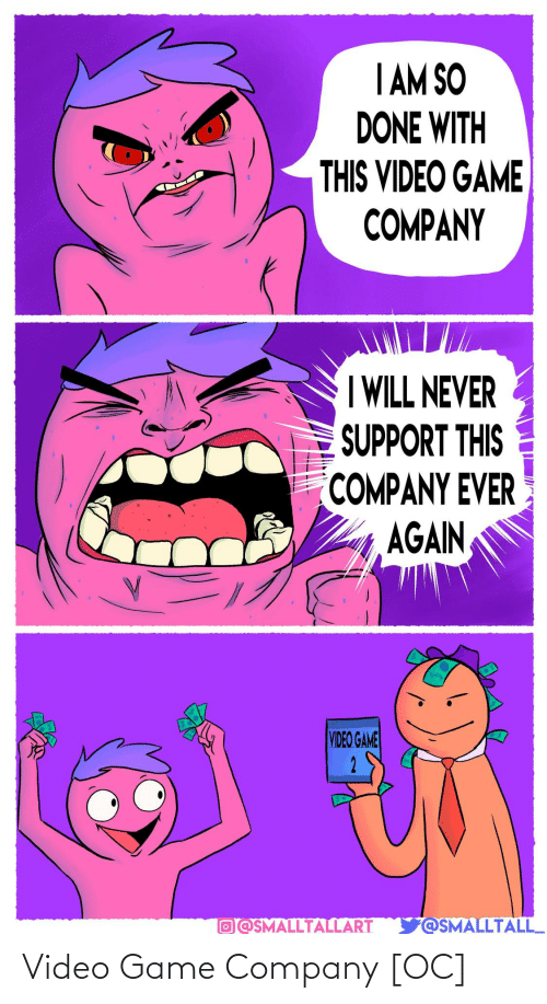 video game: Video Game Company [OC]