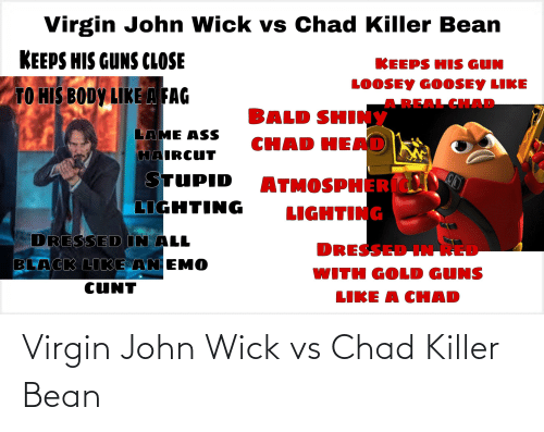 wick: Virgin John Wick vs Chad Killer Bean