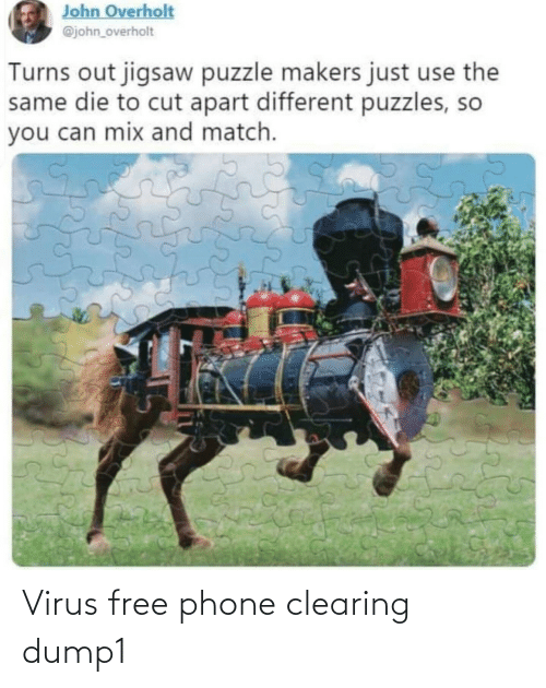 virus: Virus free phone clearing dump1