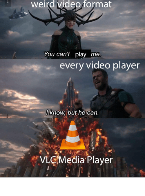 Vlc, For, and Win: VLC for the win