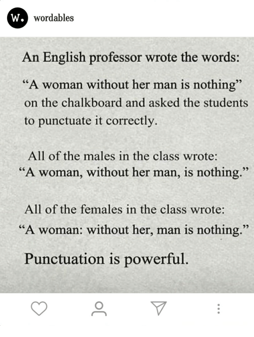 W Wordables An English Professor Wrote The Words A Woman Without Her