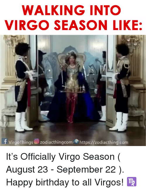 Virgo Season Memes Have Arrived And They Re Scarily Accurate Popbuzz