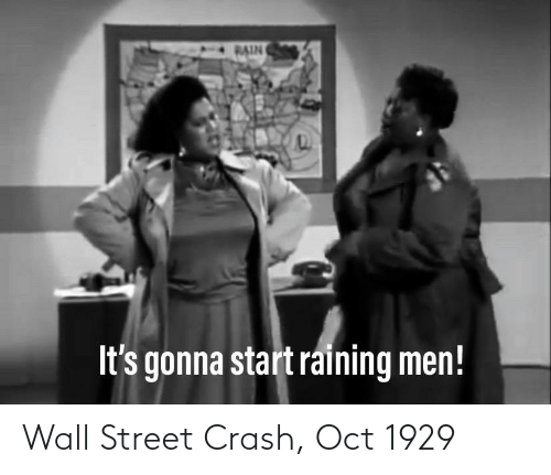 oct: Wall Street Crash, Oct 1929