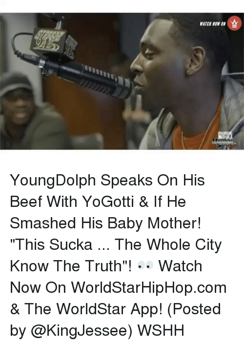 """The Worldstar: WATCH NOW YoungDolph Speaks On His Beef With YoGotti & If He Smashed His Baby Mother! """"This Sucka ... The Whole City Know The Truth""""! 👀 Watch Now On WorldStarHipHop.com & The WorldStar App! (Posted by @KingJessee) WSHH"""