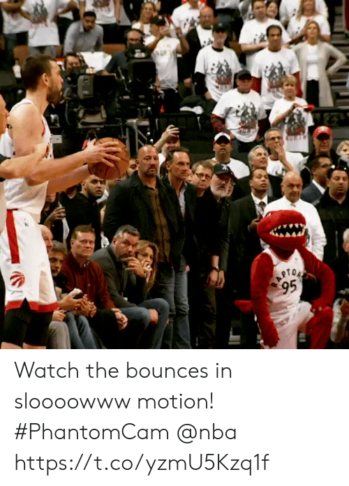 motion: Watch the bounces in sloooowww motion!    #PhantomCam @nba https://t.co/yzmU5Kzq1f